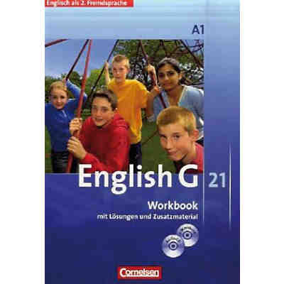 English G 21, Ausgabe C: 1. Lernjahr, Workbook m. Audio-CD (BandNr. 1)