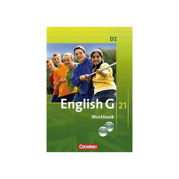 English G 21, Ausgabe D: 6. Schuljahr, Workbook m. CD-ROM (e-Workbook) u. Audio-CD (BandNr. 2)
