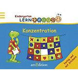 Kindergarten Lernraupe: Konzentration