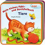 Kiddilight: Mein kleines Fühl- und Streichelbuch - Tiere