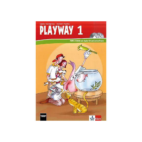 Playway to English, Ausgabe Baden-Württemberg u. Rheinland-Pfalz, Neubearb.: 1. Schulj., Pupil's Book m. Audio-CD u. CD-ROM