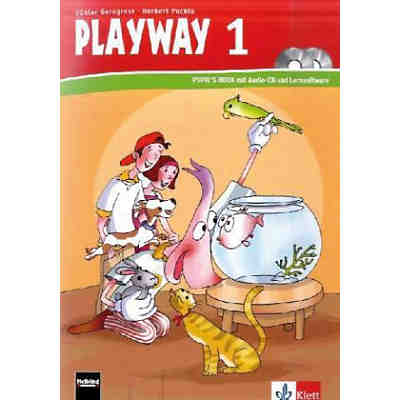Playway to English, Ausgabe Nordrhein-Westfalen, Neubearbeitung: 1. Schuljahr, Pupil's Book m. Audio-CD u. CD-ROM
