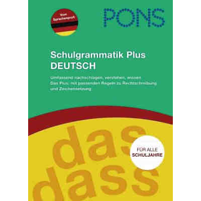 PONS Schulgrammatik Plus Deutsch
