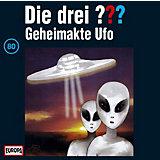 CD Die Drei ??? 80 - Geheimakte Ufo