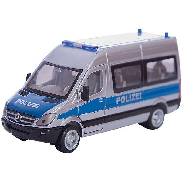 Siku polizei mannschaftswagen mytoys