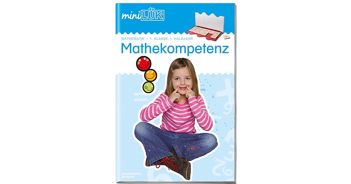 Buch - miniLÜK: Mathekompetenz 1. Klasse, 1. Halbjahr, Übungsheft