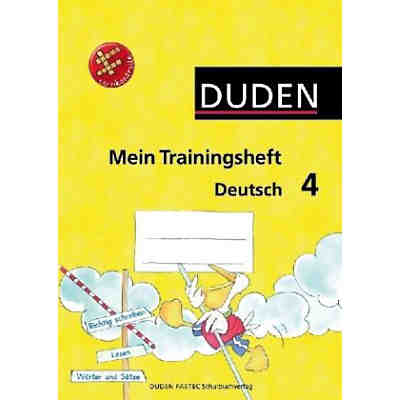 Duden Mein Trainingsheft Deutsch: Klasse 4