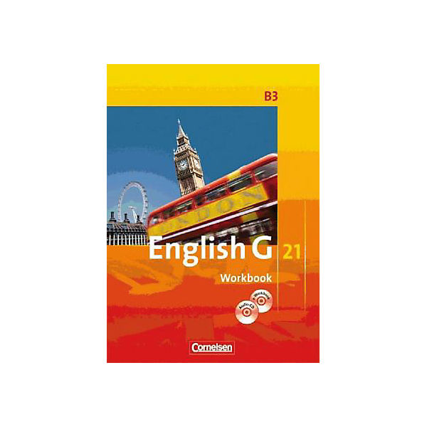 English G 21, Ausgabe B: 7. Schuljahr, Workbook m. CD-ROM (e-Workbook) u. Audio-CD