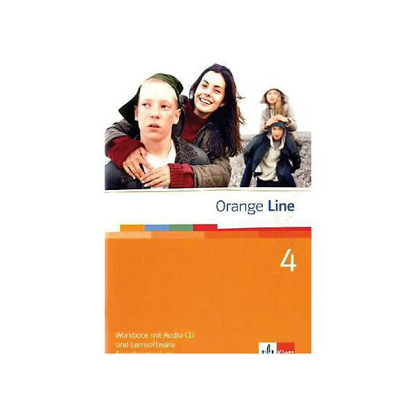 Orange Line: Klasse 8, Workbook m. Audio-CD u. CD-ROM, Erweiterungskurs