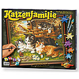 Feline Family - Paint by Numbers
