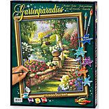 Malen nach Zahlen Gartenparadies