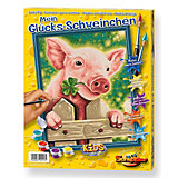 Paint by Numbers for Kids My Lucky Pig