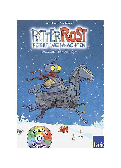 ritter rost feiert weihnachten m audio cd j rg hilbert. Black Bedroom Furniture Sets. Home Design Ideas