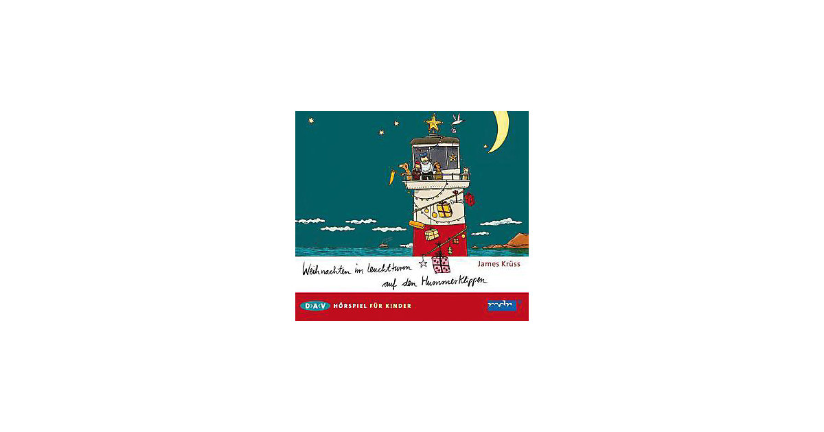 Weihnachten im Leuchtturm auf den Hummerklippen, Audio-CD Hörbuch