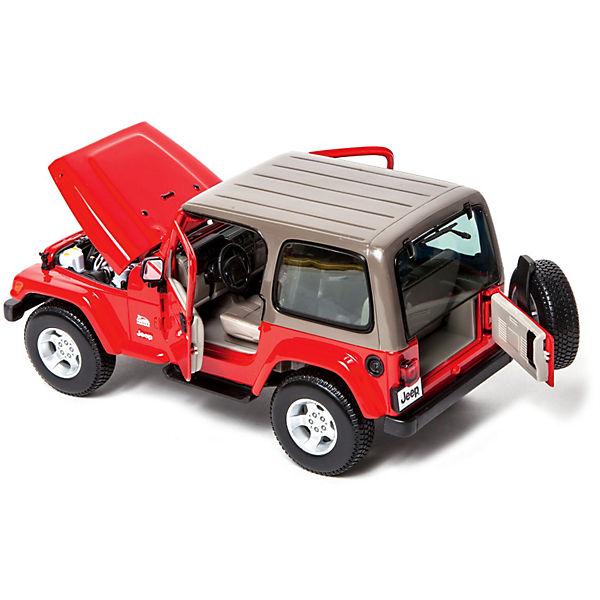 Машина Jeep Wrangler Sahara металл., 1:18, Bburago