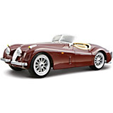 Машина Jaguar  XK 120 Roadster металл.,1:24, Bburago
