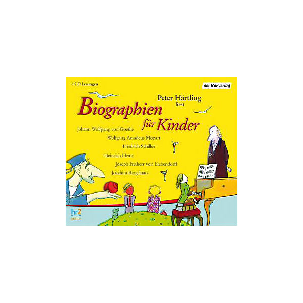 Biographien für Kinder, 6 Audio-CDs