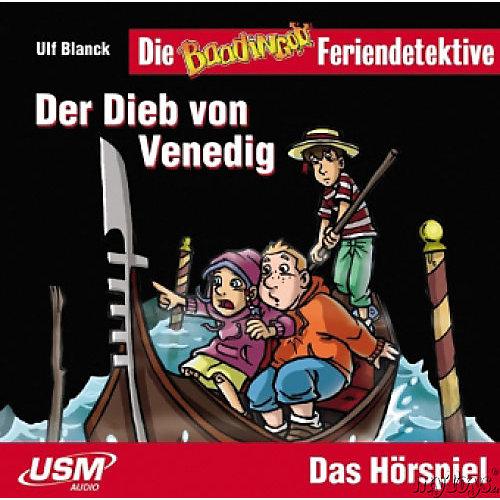 Die Baadingoo Feriendetektive: Der Dieb von Venedig, Audio-CD Hörbuch
