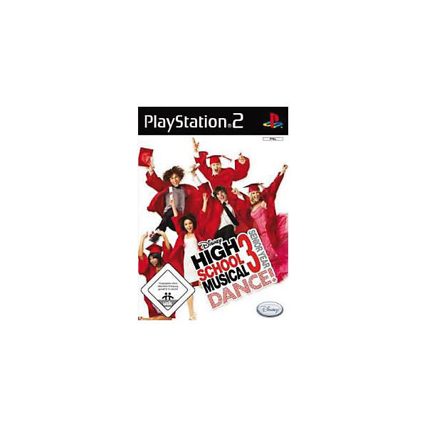 PS2 High School Musical 3 Dance!