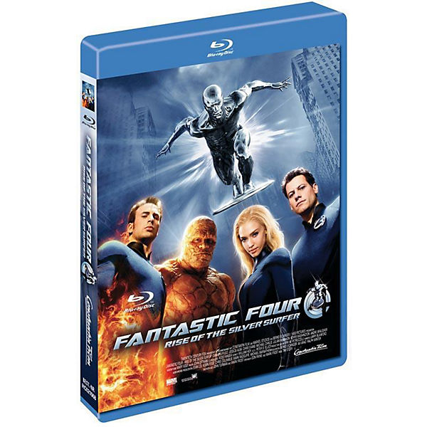BLU-RAY Fantastic Four 2 Silver Surfer