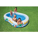 Paradise Lagoon Paddling Pool, 262 x 160 cm