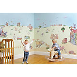 Kid's Room - Makeover Wall Stickers Funberry Farm, 72 Pieces