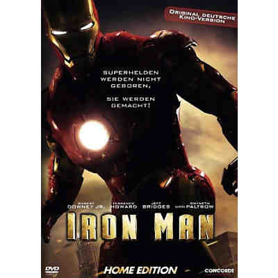 DVD Iron Man - Single