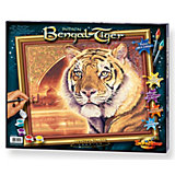 Malen nach Zahlen Bengalischer Tiger