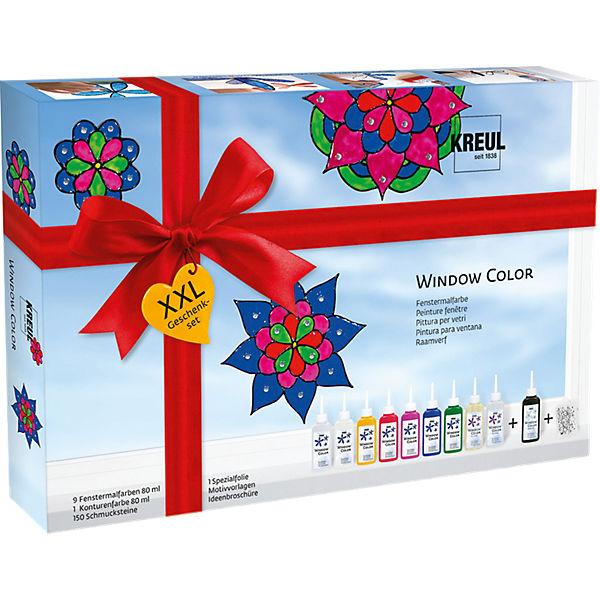 window color geschenkset xxl c kreul mytoys. Black Bedroom Furniture Sets. Home Design Ideas