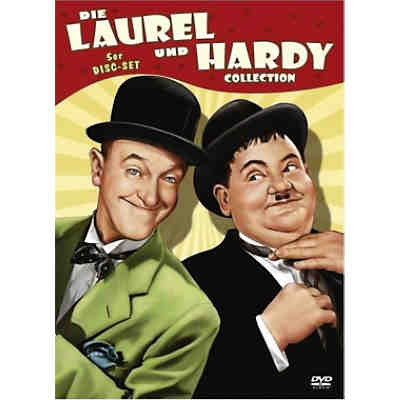 DVD Laurel & Hardy - 5er Box