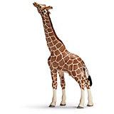 Schleich Wildlife: 14389 Giraffenbulle, fressend