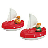 Aquaplay Segelboot mit Puppe (2 Stück)