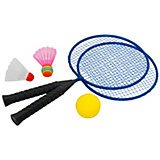 Badminton set Fun, 2 rackets, 3 different balls