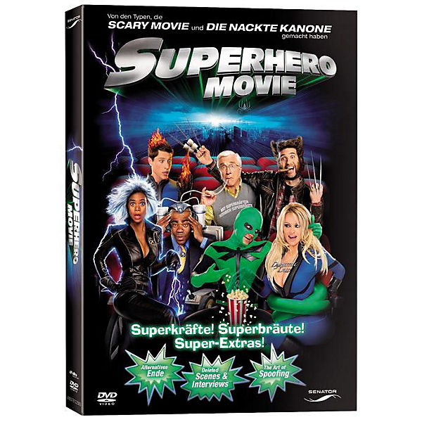 DVD Superhero Movie