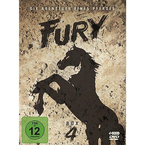 DVD Fury - Box 4
