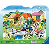 Frame Jigsaw - 25 Pieces - Modern Farm
