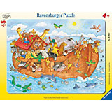 Frame Puzzle - 48 Pieces - Noah's Ark