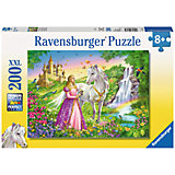 XXL Jigsaw - 200 Pieces - Princess with Horse