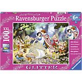 XXL Glitter Jigsaw - 100 Pieces - Snow White