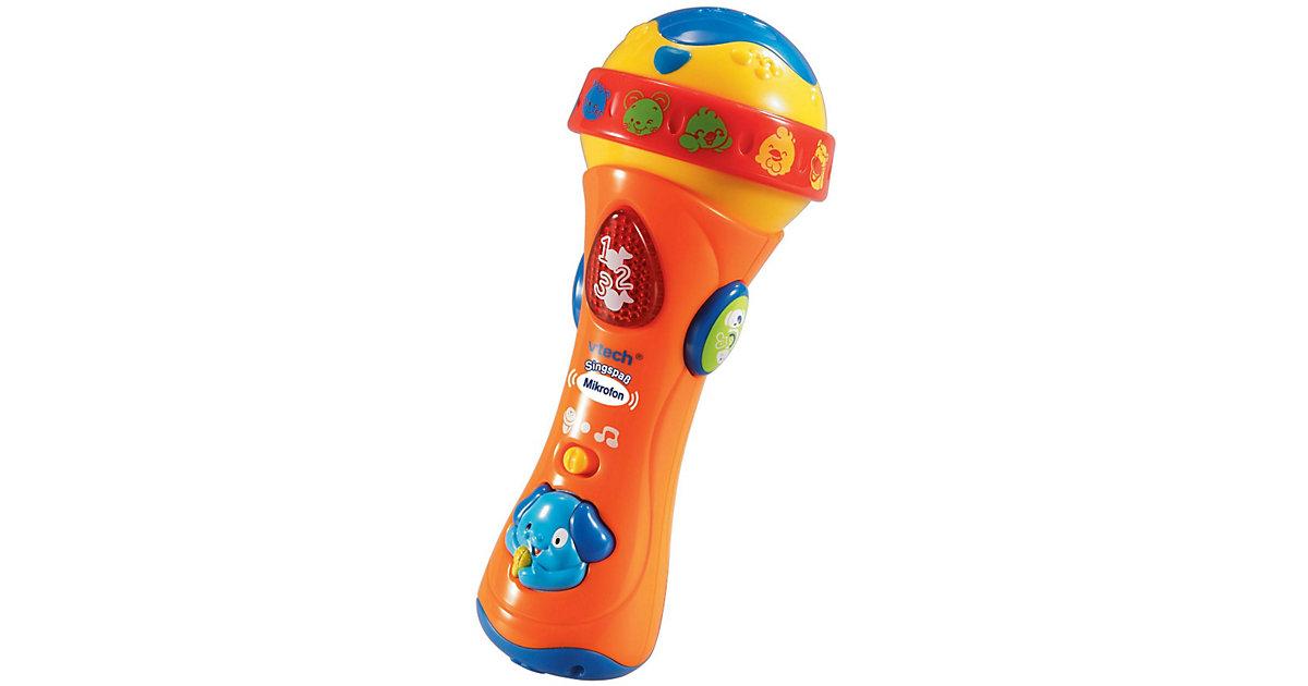 Vorschaubild von Singspaß Mikrofon, orange