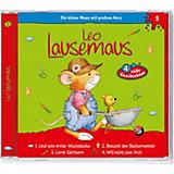 CD Leo Lausemaus 05 - und sein erster Wackelzahn