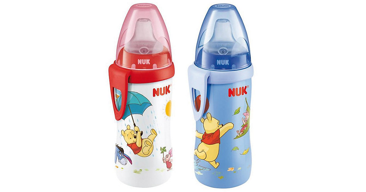 Trinkflasche Active Cup, PP, 300 ml, Winnie the Pooh mehrfarbig