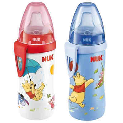 Trinkflasche Active Cup, PP, 300 ml, Winnie the Pooh