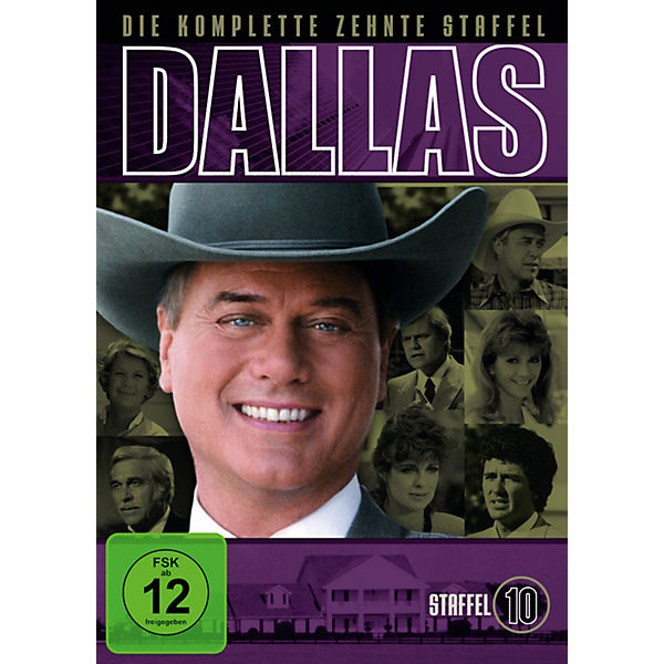 DVD Dallas - Staffel 10 (3 Discs)