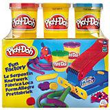 Play-Doh - Knetwerk + GRATIS 3er-Bonuspack Knete
