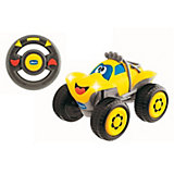 CHICCO R/C Fernlenk-Auto Billy Big Wheels, gelb