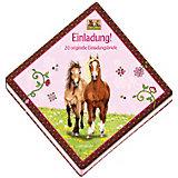 Pferdefreunde - Einladungsbriefe