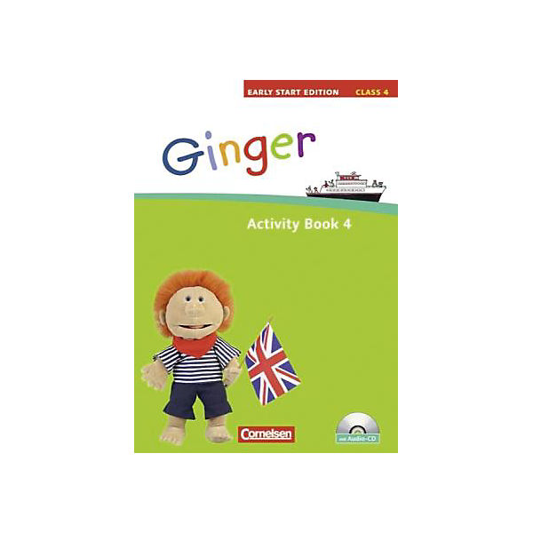 Ginger - Early Start Edition: Class 4, Activity Book m. Audio-CD