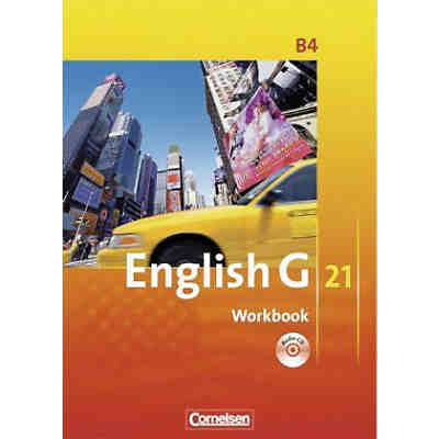 English G 21, Ausgabe B: 8. Schuljahr, Workbook m. Audio-CD