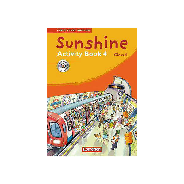 Sunshine - Early Start Edition: Class 4, Activity Book, m. CD-ROM/Audio-CD